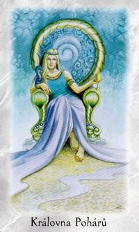 Kralovna Poharu Na Kridlech Andelu